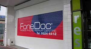 commercial forceshield security shopfront shutters