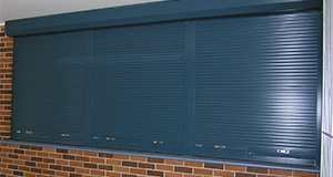 commercial security roller shutters