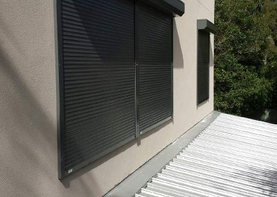 domestic slimline home security shutters