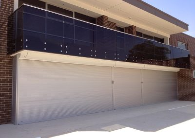 extra wide roller shutters