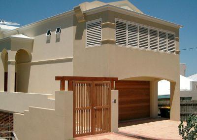 plantation louvre shutters