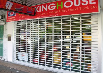 rollabrick shopfront security shutters
