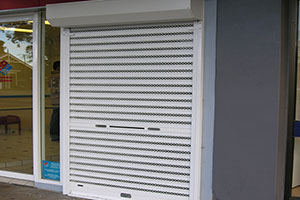 rollamesh 1-1 shopfront security shutter