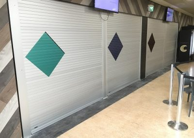 secure canteen roller shutters