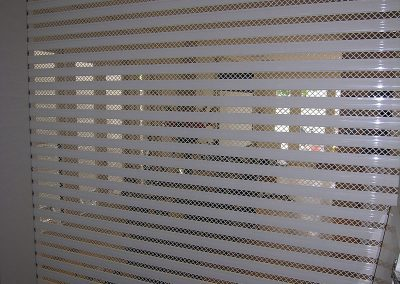 shopfront security mesh shutters