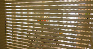 security mesh roller shutters