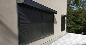 slimline home security shutters