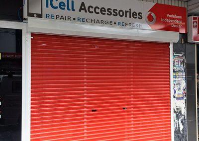 visionshield shopfront shutter with vision