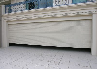 wide garage roller shutters