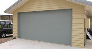 wide garage roller door